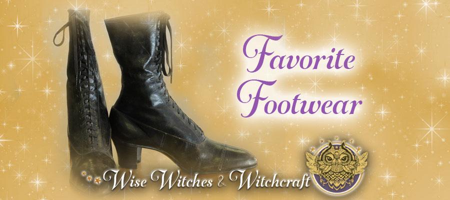 Favorite Footwear - Witch Quiz 900x400