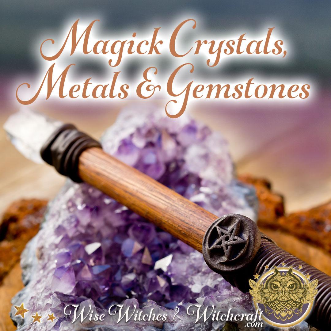 Magic Healing Crystals, Metals, & Gemstones 1080x1080
