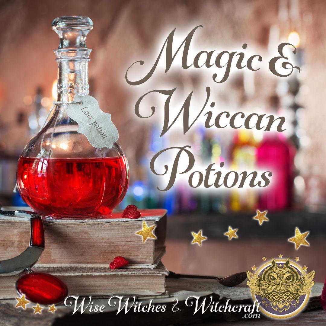 Magic & Wiccan Potions 1080x1080