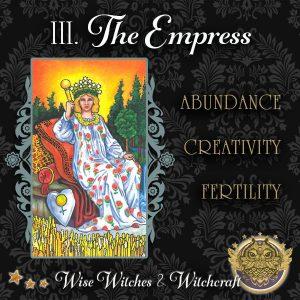The Empress Tarot Card 600x600
