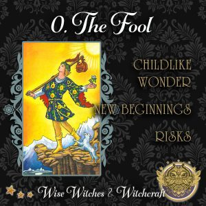 The Fool Tarot Card 600x600