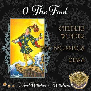 The Fool Tarot Card 600x600