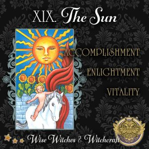 The Sun Tarot Card 600x600