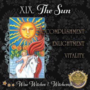 The Sun Tarot Card 600x600