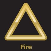 fire element symbol wiccan symbols 200x200
