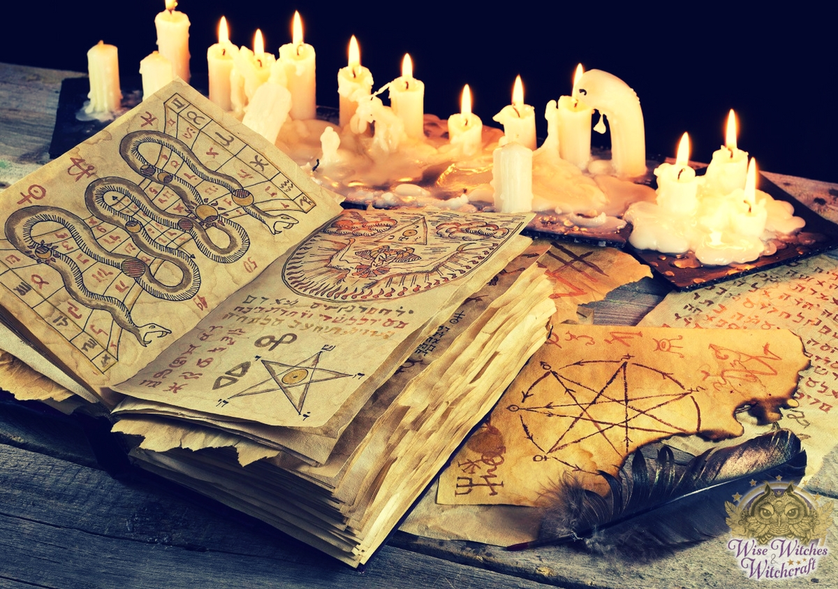 wiccan symbols spell book 1200x630