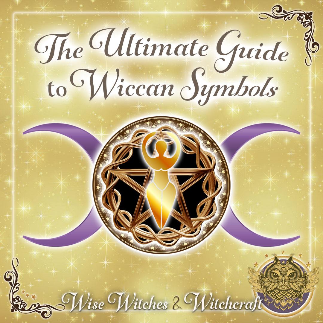 Wiccan Symbols Pentacle Pentagram Spiral Goddess Triquetra More