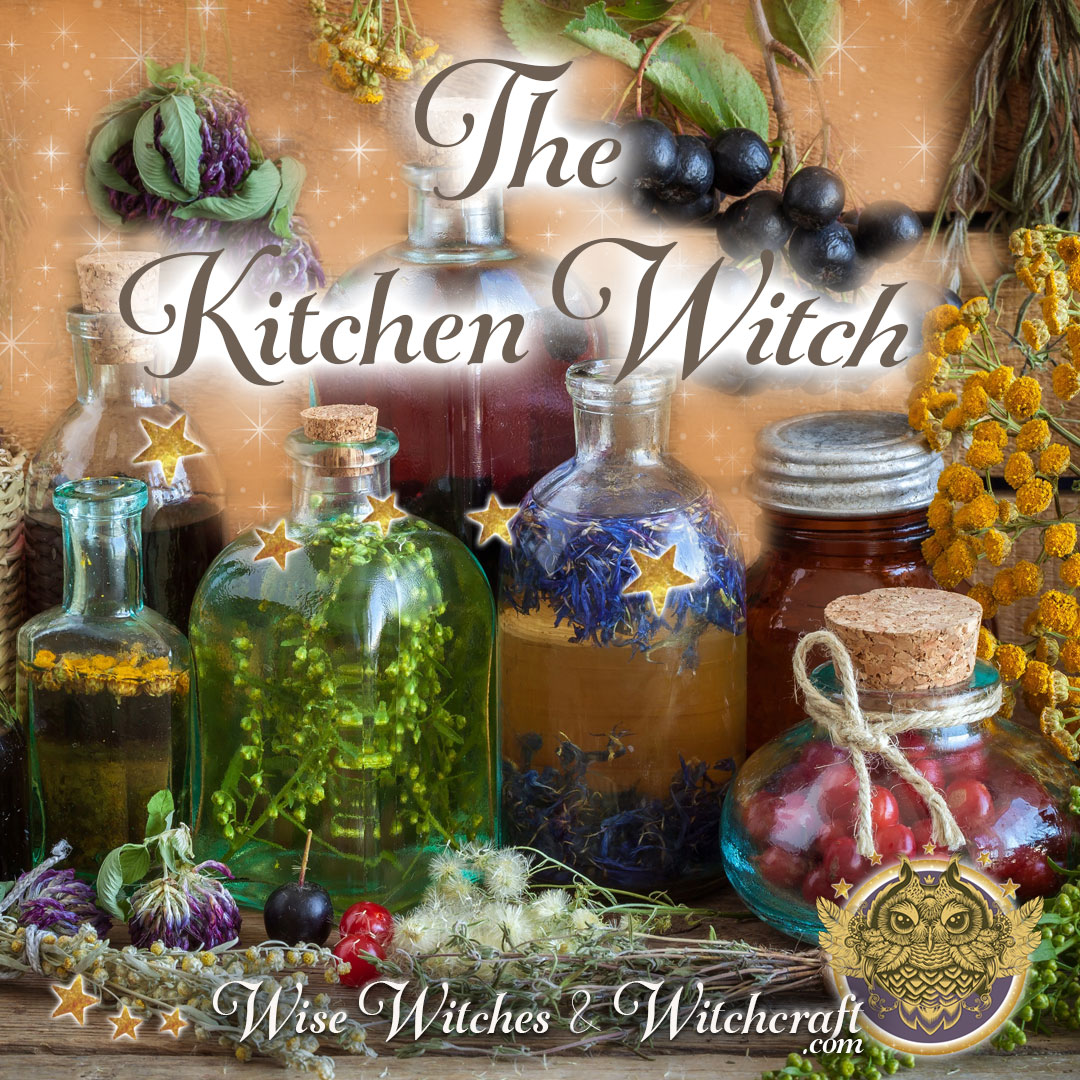 Kitchen Witch - Types of Witches 1080x1080