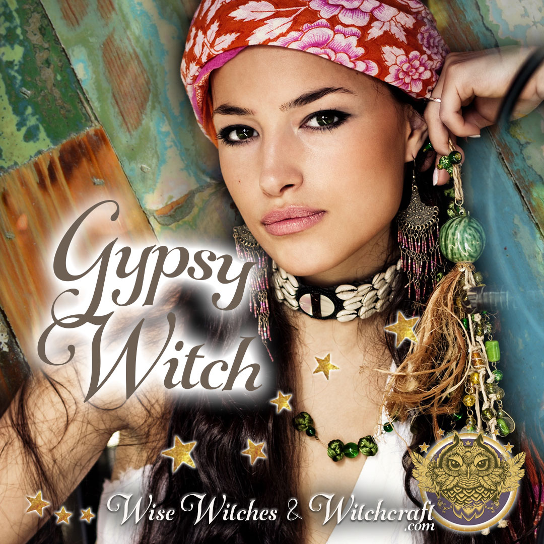 Gypsy, Romany Witch & Witchcraft 1080x1080