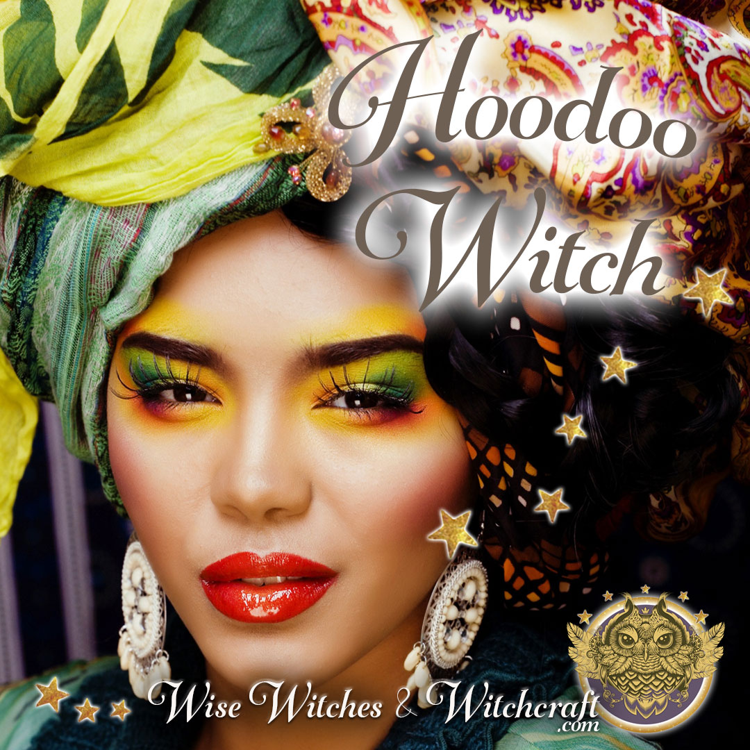 Hoodoo Witch, Rootworker Witchcraft 1080x1080