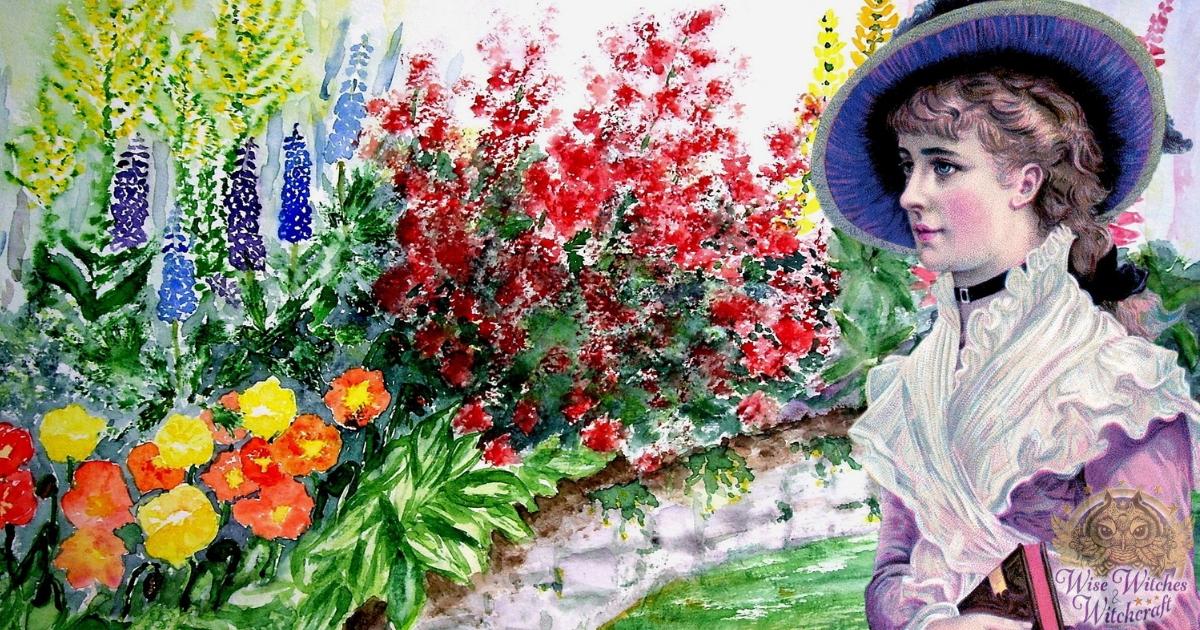 victorian language of flowers as magickal correspondences 1200x630