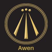 awen symbol pagan symbols 200x200
