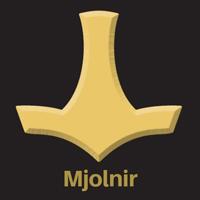 mjolnir and thor's hammer symbol pagan symbols 200x200