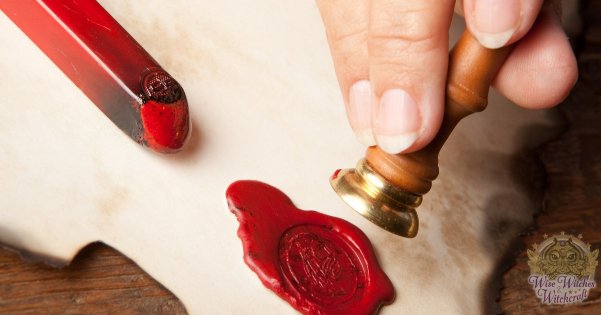wax seals for your book of shadows 1200x630