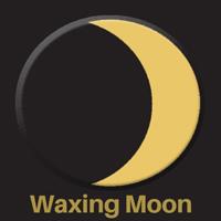 waxing moon symbol pagan symbols 200x200