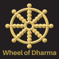 wheel of dharma symbol pagan symbols 200x200