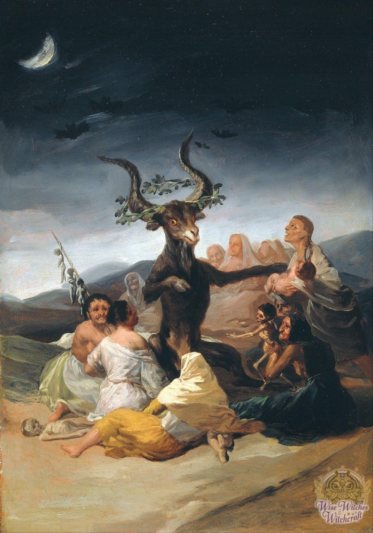 francisco de goya lucientes witches sabbath contemporary witchcraft 1200x1714
