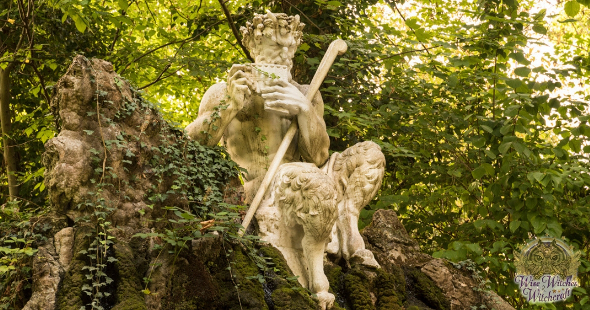 Pan, the archetypal pagan nature god from Greek mythology